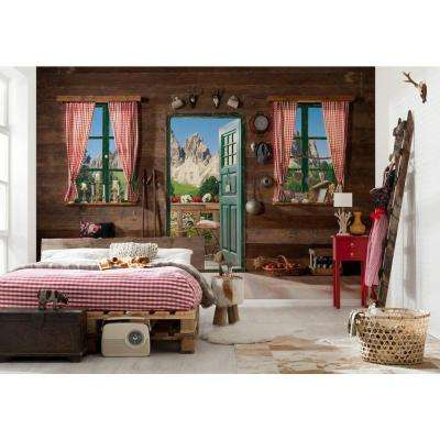 145 in. H x 100 in. W Dolomite Wall Mural