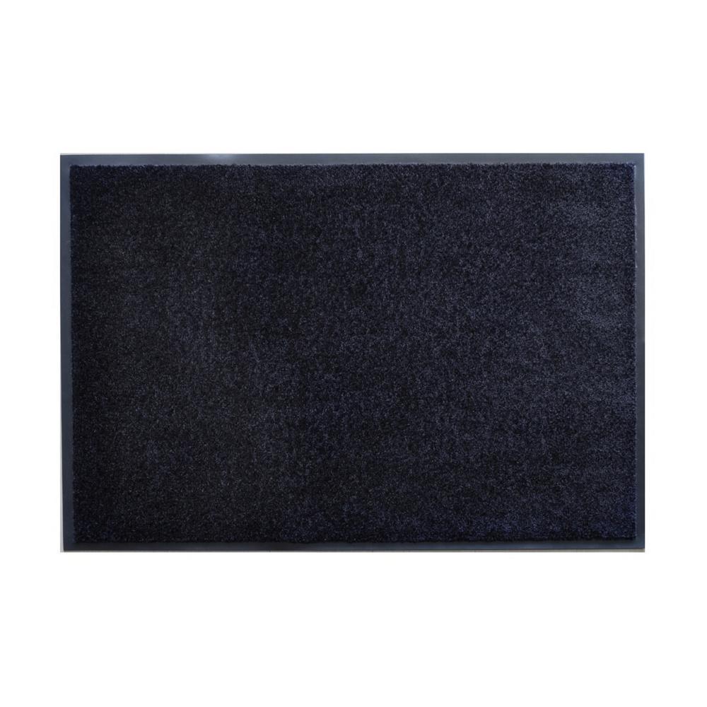 Darkest Gray 23.6 in. x 35.5 in. Door Mat