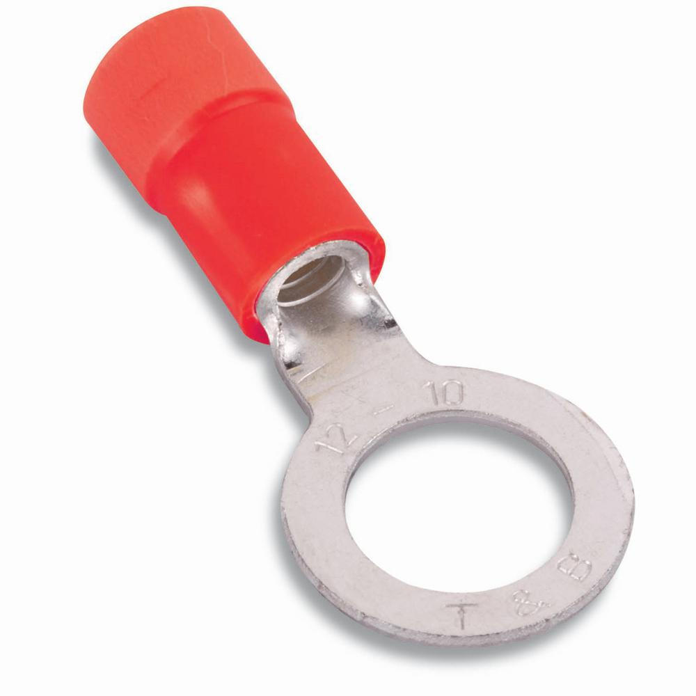 Vinyl Insulated Ring Terminal 22-16#6 (Case of 50)
