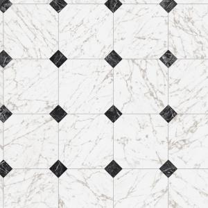 Trafficmaster Take Home Sample Black And White Marble