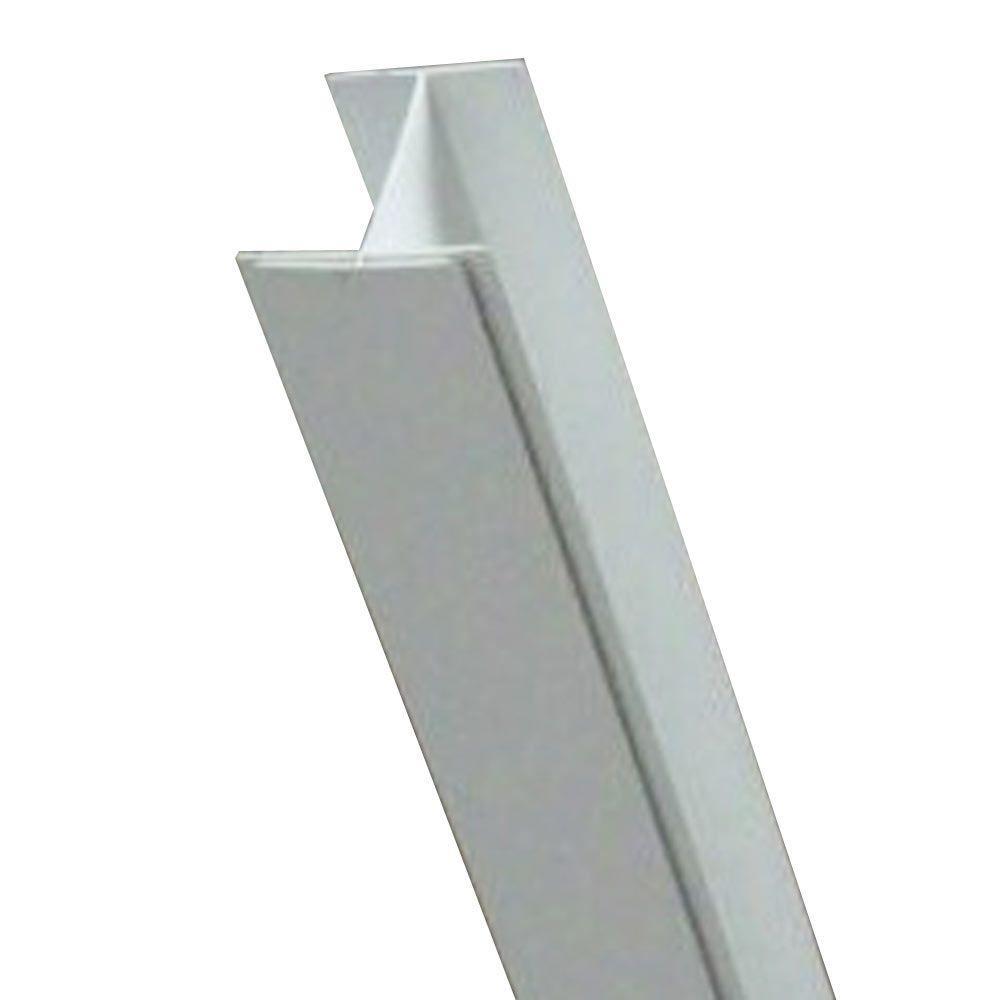 ZipUP 12 ft. White Seam Trim