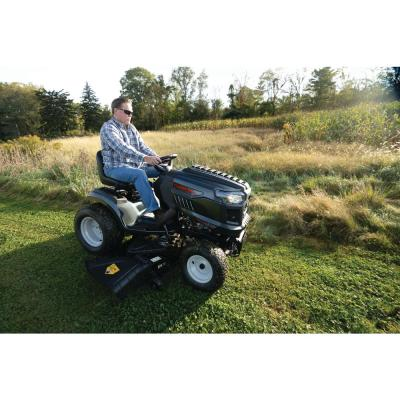 Super Bronco XP 54 in. 24 HP V-Twin Kohler 7000 Series Engine Hydrostatic Drive Gas Riding Lawn Mower