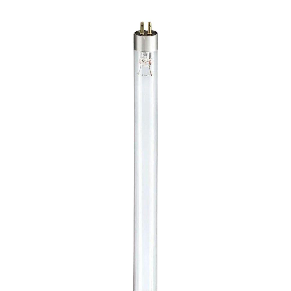 Philips 12 in. T5 8-Watt Mini TUV Linear Fluorescent Germicidal Light Bulb (25-Pack)