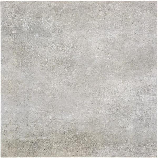 Malaga Light Gray 24 in. x 24 in. x 9.5mm Matte Porcelain Floor and Wall Tile (4 pieces / 15.49 sq. ft. / box)