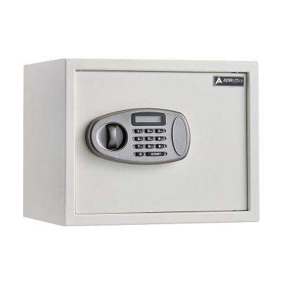 1.25 cu. ft. Steel Security Safe with Digital Lock, White