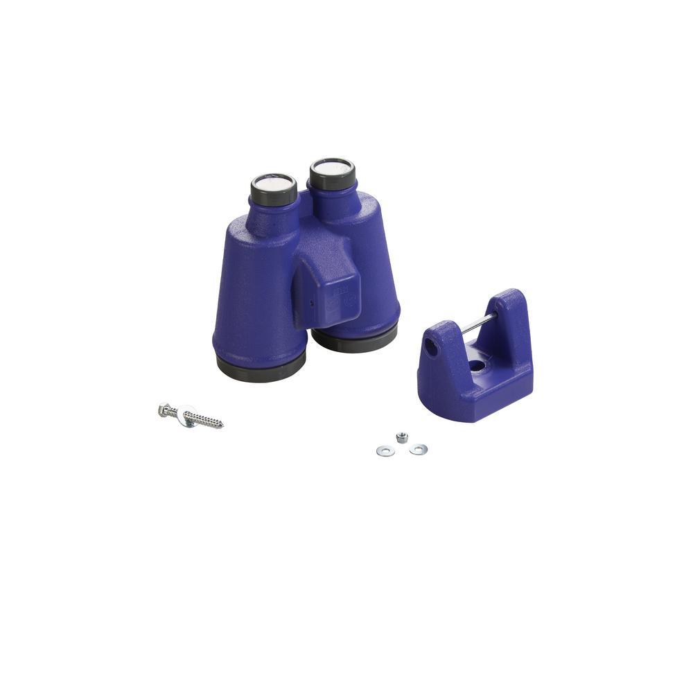 Large Plastic Binoculars- Violet