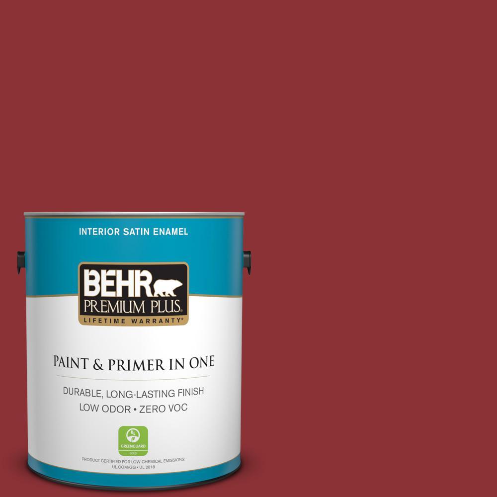 1 gal. #PPU2-03 Allure Zero VOC Satin Enamel Interior Paint
