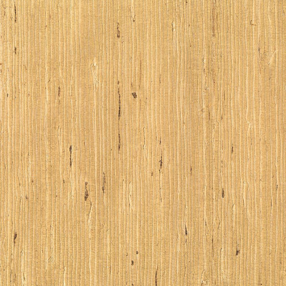 Kenneth James Filip Rust Grasscloth Wallpaper 2622-65418