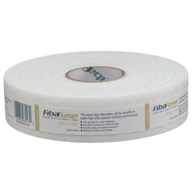 FibaFuse 2-1/16 in in. x 250 ft. White Paperless Drywall Joint Tape