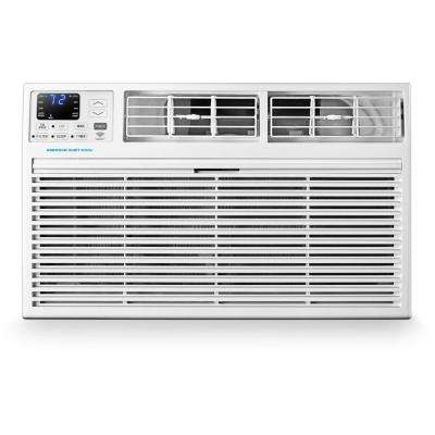 8,000 BTU 115-Volt SMART Through-the-Wall Air Conditioner with Remote, Wi-Fi, and Voice Control
