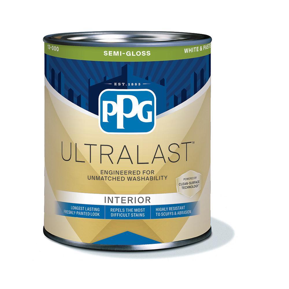 1 Quart Mar Resistant Paint Colors Paint The Home Depot