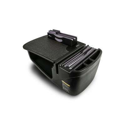 Efficiency FileMaster in Black with Built-in Power Inverter and Printer Stand