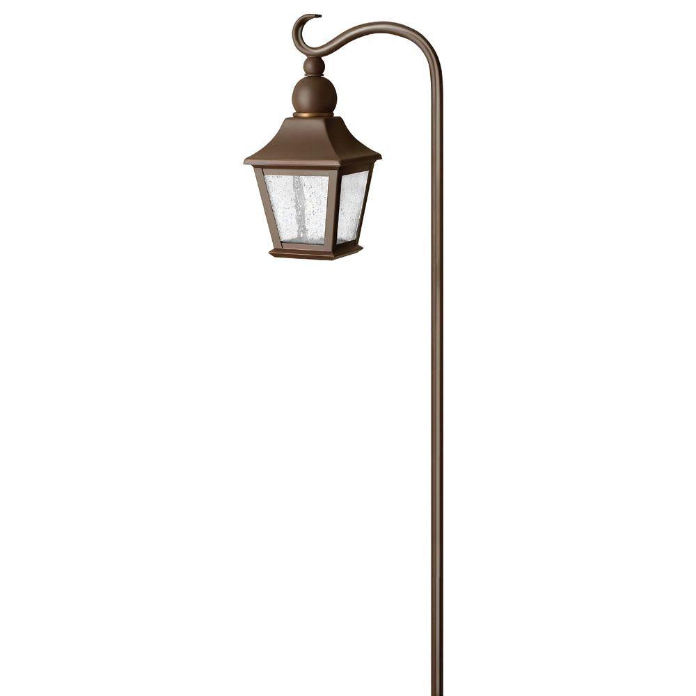 Low-Voltage 18-Watt Bronze Bratenahl Outdoor Path Light