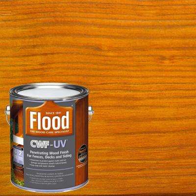 1 gal. Honey Gold Transparent CWF-UV Penetrating Exterior Wood Stain