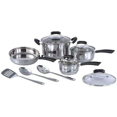 11-Piece Stainless Steel Cookware Set