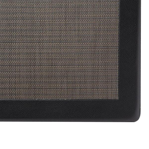 Grey 20 In X 36 Pvc Leather Frame