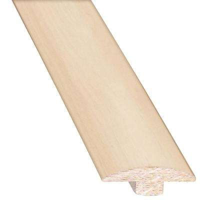 Shell 0.75 in. Thick x 2 in. Wide x 78 in. Length Hardwood T-Molding