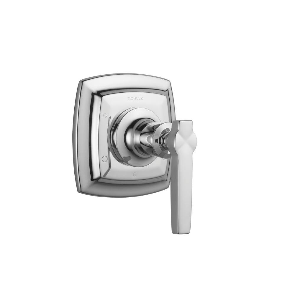 KOHLER Margaux 1-Handle Transfer Valve Trim Kit in Polished Chrome with Lever Handle (Valve Not Included)