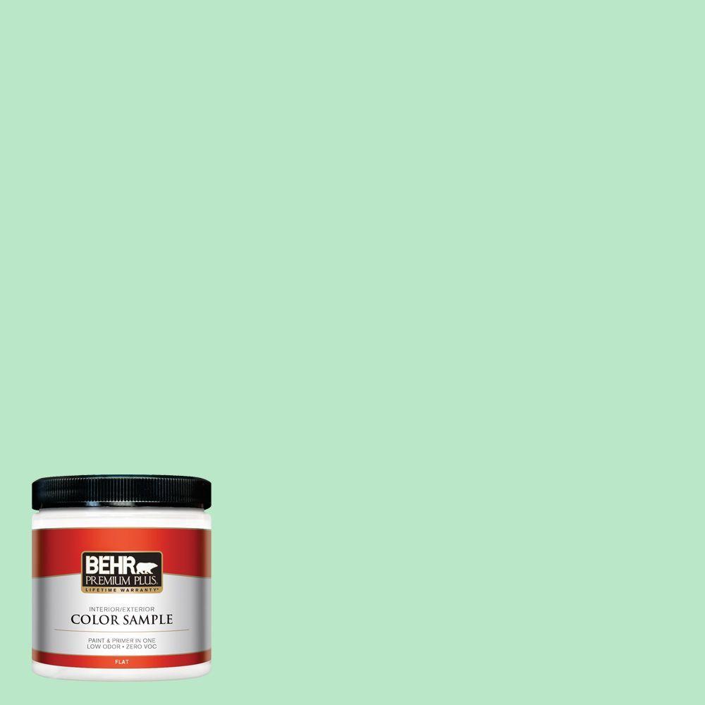 8 oz. #460A-3 Canton Jade Interior/Exterior Paint Sample