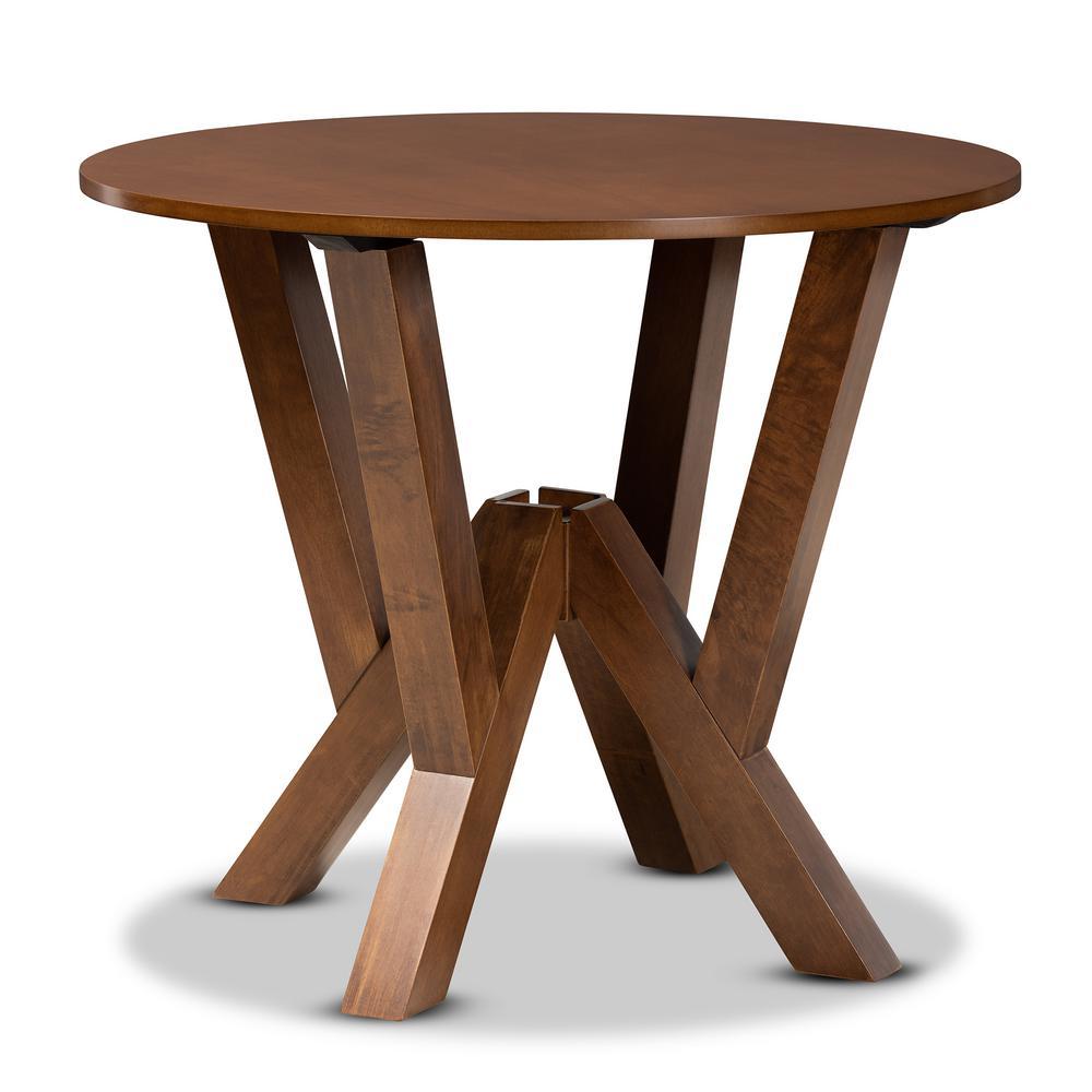 Irene Walnut Dining Table