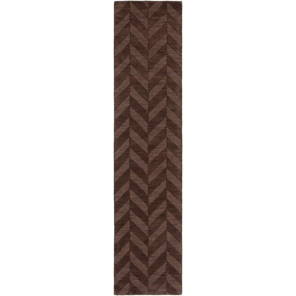 Central Park Carrie Chocolate 2 ft. 3 in. x 8 ft.