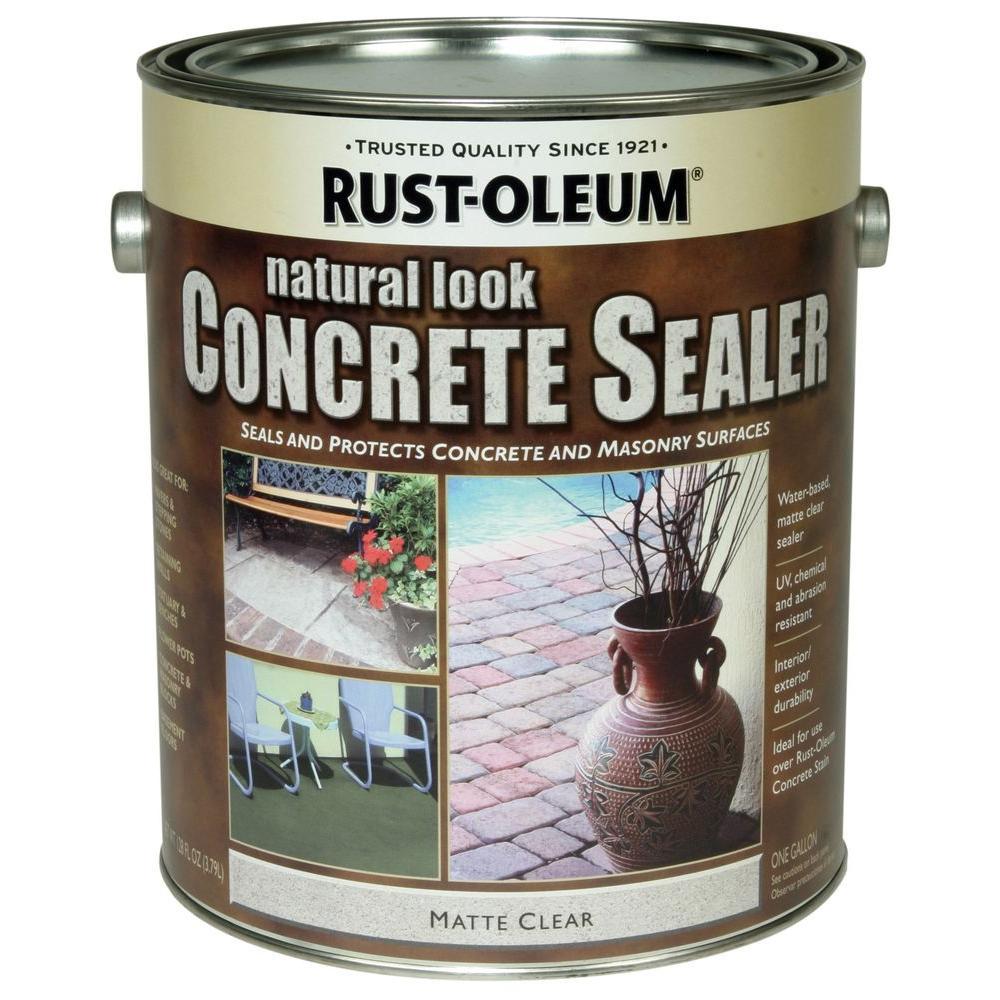 Rust-Oleum Concrete Stain 1 -gal. Natural Water Repellent Sealer (Case of 2)