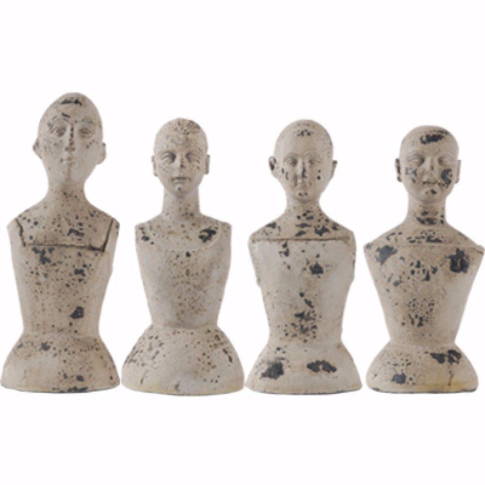 Artistically Ornate Mannequins (Set of 4)