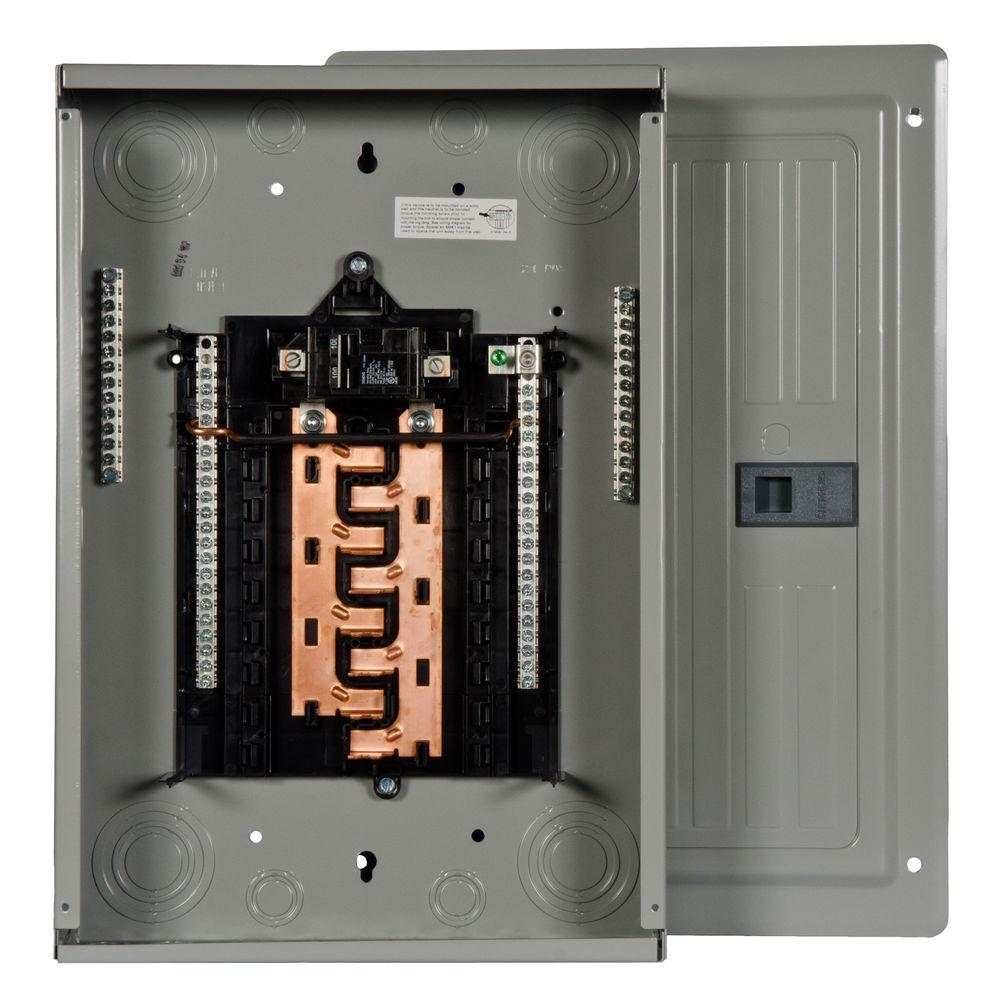 Siemens Pl Series 100 Amp 16 Space 24 Circuit Main Breaker Indoor Sub Panel Box Wiring Diagram Load Center