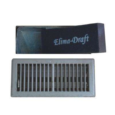 12 in. x 4 in. x 2 in. Floor Ducts Residential and Commercial HVAC Insulated Floor Insert