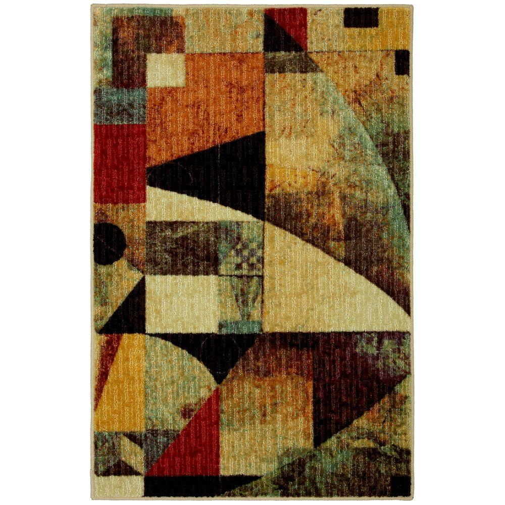 Mohawk Magician Multi 2 ft. 6 in. x 3 ft. 10 in. Accent Rug-DISCONTINUED