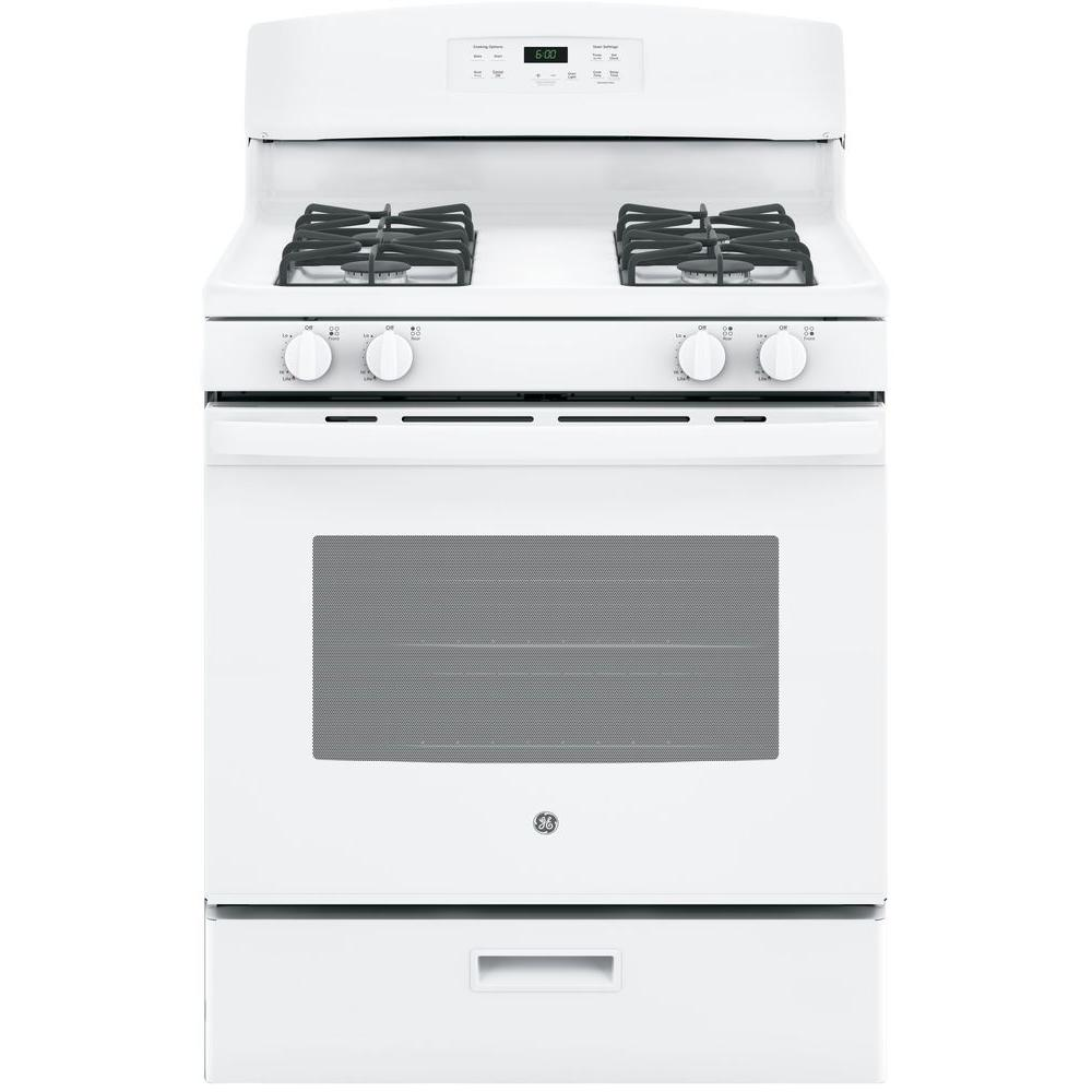 stove white. free-standing gas range in white stove m