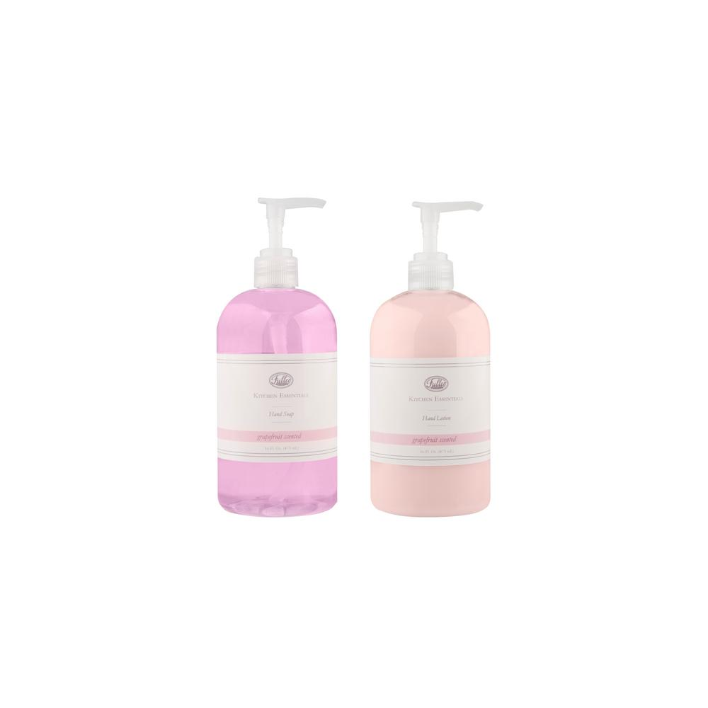 Kitchen Essentials Grapefruit Hand Soap and Lotion Set