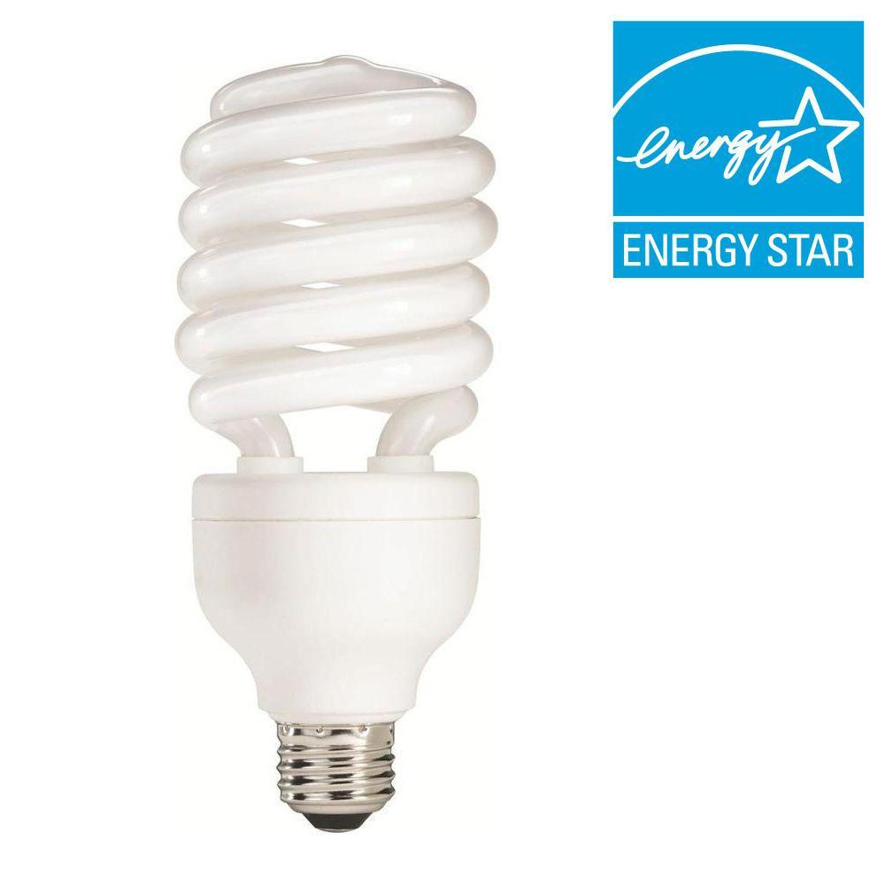 Philips 150W Equivalent Soft White (2700K) A19 Spiral CFL Light Bulb (E)*