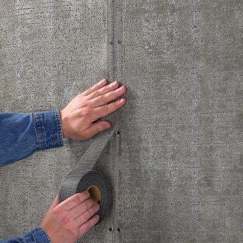 FibaTape Alkali-Resistant 2 in. x 150 ft. Self-Adhesive Mesh Cement Board Tape