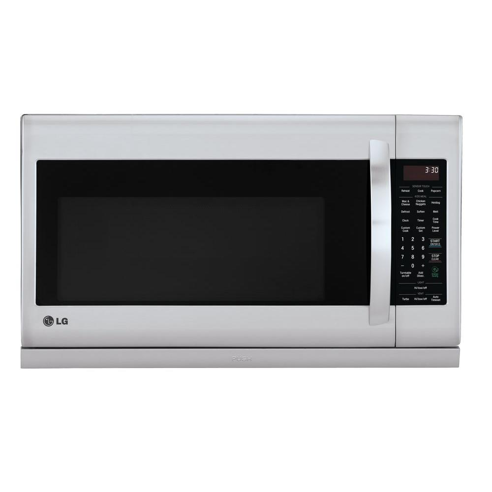 Over The Range Microwave In Stainless Steel With Extendavent