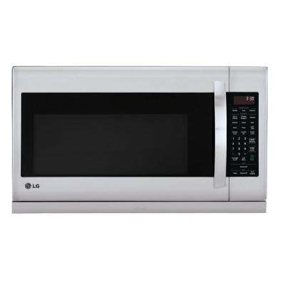 2.2 cu. ft. Over the Range Microwave in Stainless Steel with ExtendaVent