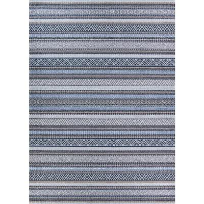 Cape Cobija Gris 7 ft. x 10 ft. Indoor/Outdoor Area Rug