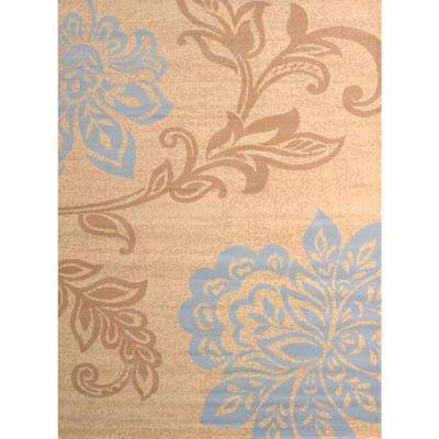 Trouseau Blue 1 ft. 11 in. x 3 ft. 3 in. Indoor Area Rug