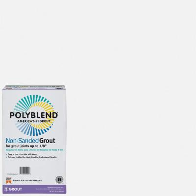 Polyblend #640 Arctic White 10 lb. Non-Sanded Grout