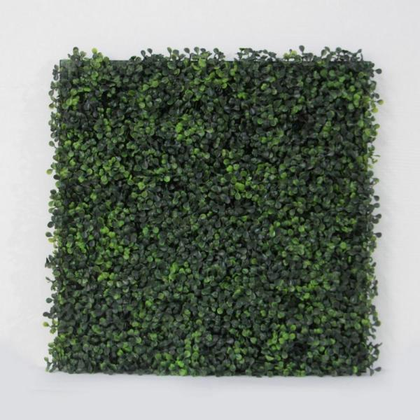 Artificial Boxwood Tile With Installable Back Board,20''x 20''/pc (12pc)