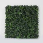"Artificial Boxwood Tile With Installable Back Board,20""x 20""/pc (18pc)"