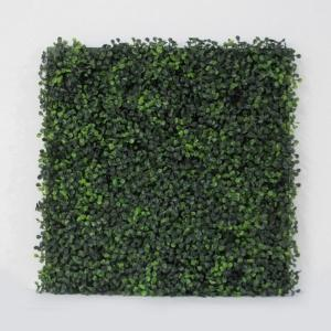 Artificial Boxwood Tile With Installable Back Board,20''x 20''/pc (18pc)