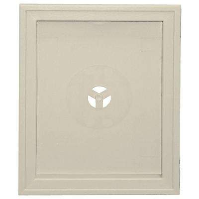 6.75 in. x 8.75 in. #089 Champagne Large Recessed Universal Mounting Block