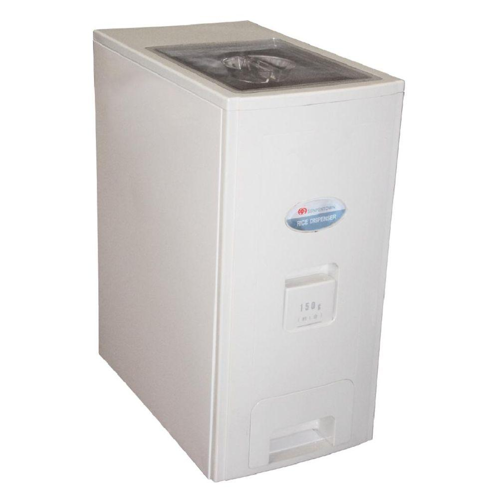Rice Dispenser Kitchen Storage Food Container Plastic Bin Box 26 Lb  Capacity New