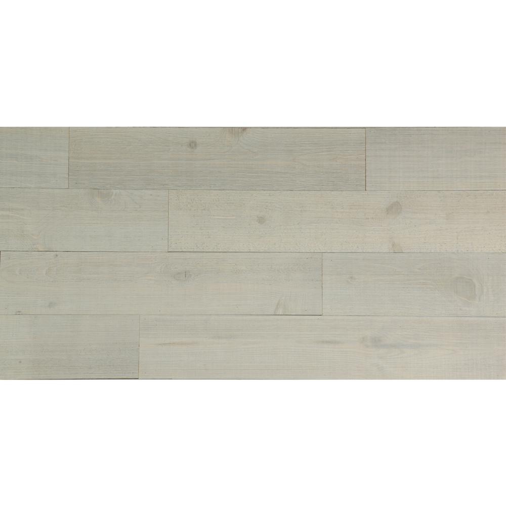 American Planking 3/8 in. x 5-1/2 in. x 47-1/2 in. Coastal White ...