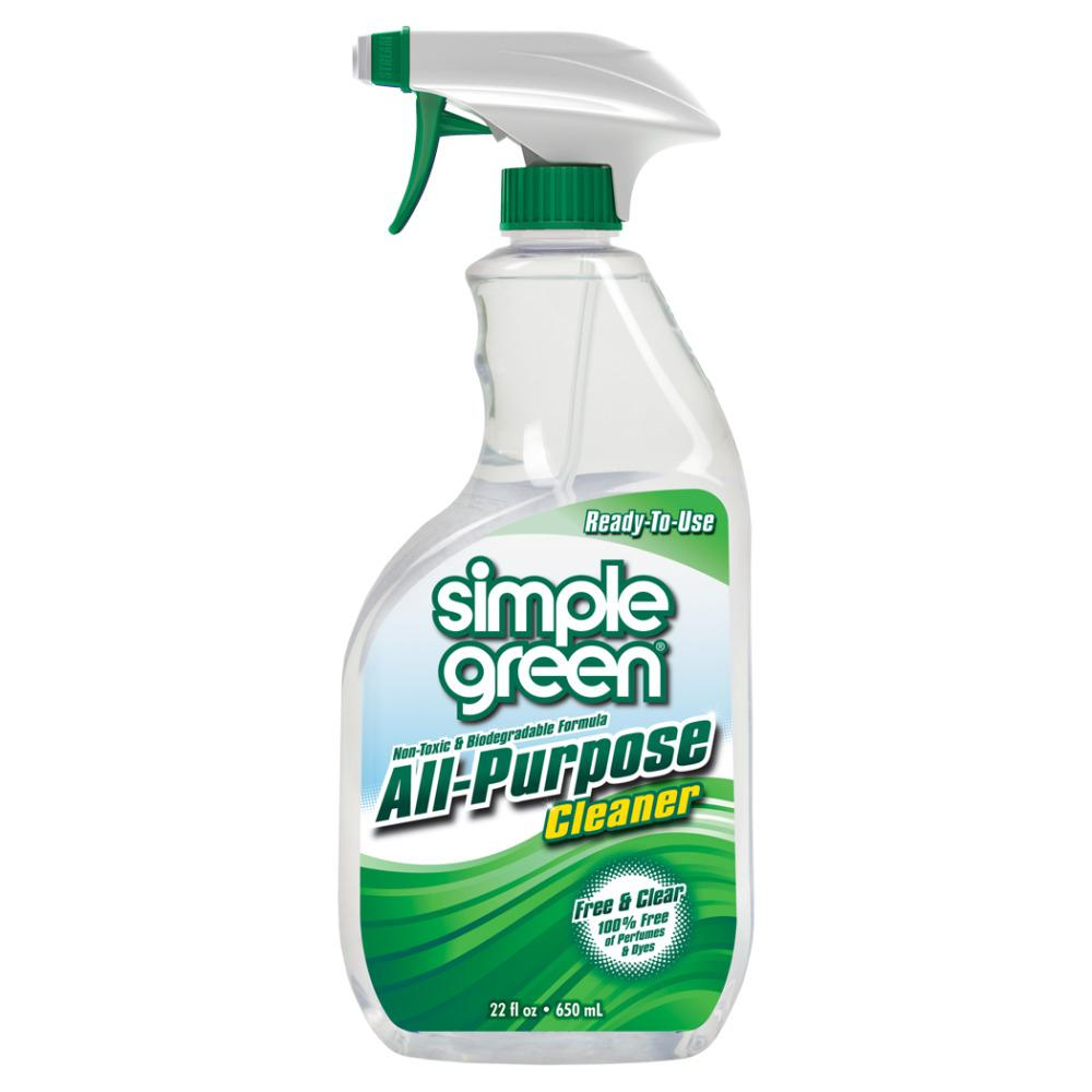 22 oz. Free and Clear Ready-To-Use All-Purpose Cleaner (Case of 12)