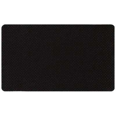 Prima Donna Black 1.6 ft. x 2.6 ft. Door Mat