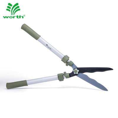 10 in. Telescopic Wave Blade Hedge Shears