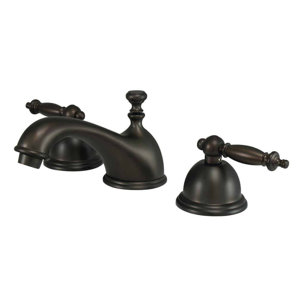 Danvers 8 in. Widespread 2-Handle Bathroom Faucet in Oil Rubbed Bronze