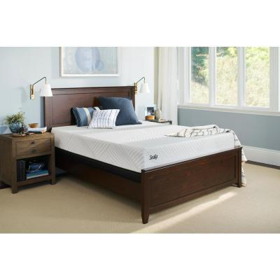 Conform Essentials 11.5 in. Queen Plush Mattress with 5 in. Low Profile Foundation Set